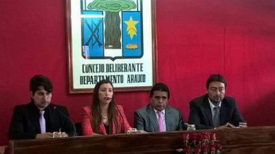 Porque 'trabajan' mucho, concejales de Arauco no prestan recinto para juicio