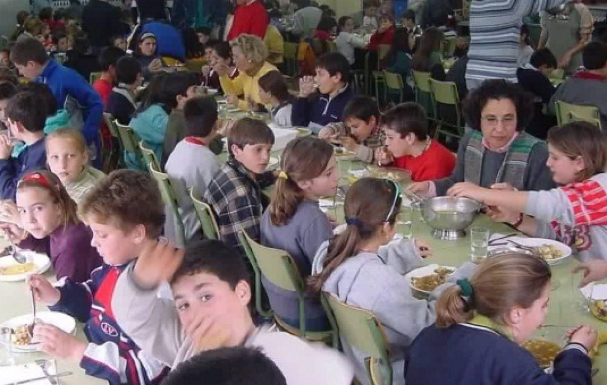 Comedores escolares: Suteba asegura que creció un 30 por ciento la demanda