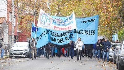 """Tras el paro y movilización de docentes municipales de Mar del Plata se abre un canal de diálogo con """"otras autoridades"""""""
