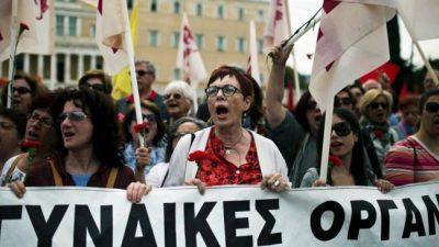 Grecia aprobó una polémica reforma