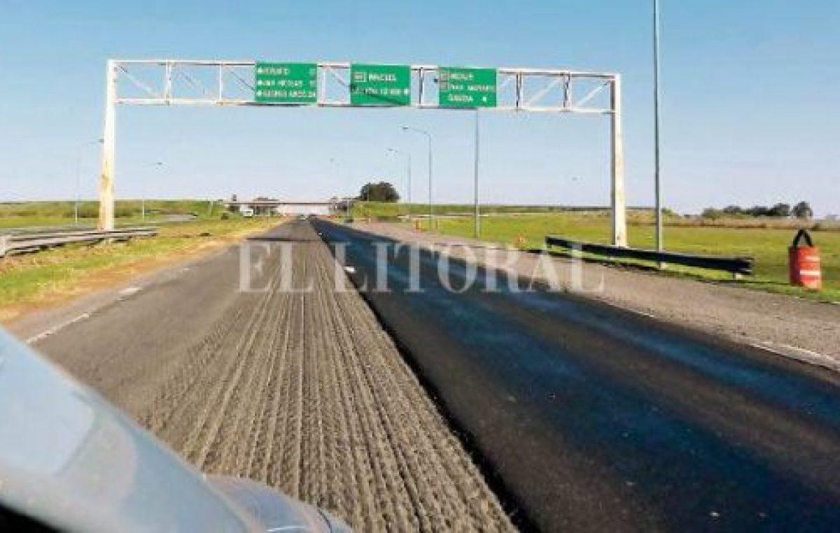 El gobierno admite que la autopista Santa Fe – Rosario está en un estado «muy precario»