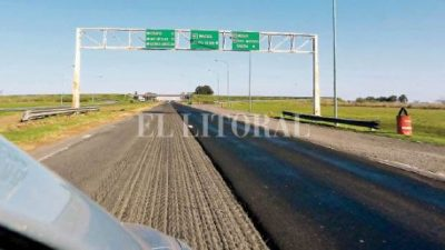 """El gobierno admite que la autopista Santa Fe – Rosario está en un estado """"muy precario"""""""