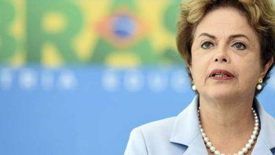 Dilma piensa en renunciar y pedir elecciones adelantadas en octubre