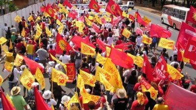 """Brasil """"Están desmontando el Estado con el apoyo del Poder Judicial y los medios de comunicación"""""""