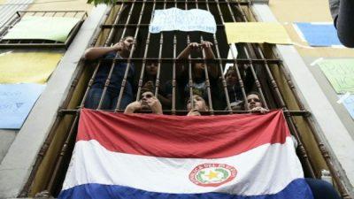 La voz estudiantil sonó fuerte en Paraguay