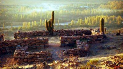 Ruinas de Hualco en La Rioja