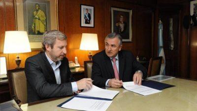 Nación acordó la devolución del 15% de coparticipación con Jujuy, Chubut, Neuquén y Tucumán