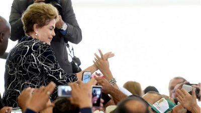 Rousseff, a un paso de ser destituida por el Congreso