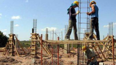 El empleo de la construcción cayó 11,9% interanual