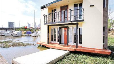 Santa Fe: Buscan dar un nuevo impulso a la construcción de casas flotantes