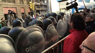 Del festejo a la represión