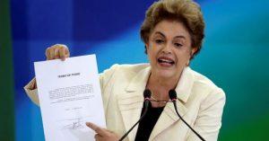 Un vuelco en el proceso contra Dilma