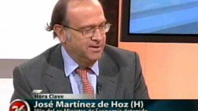 Martínez de Hoz, de lobbista a funcionario