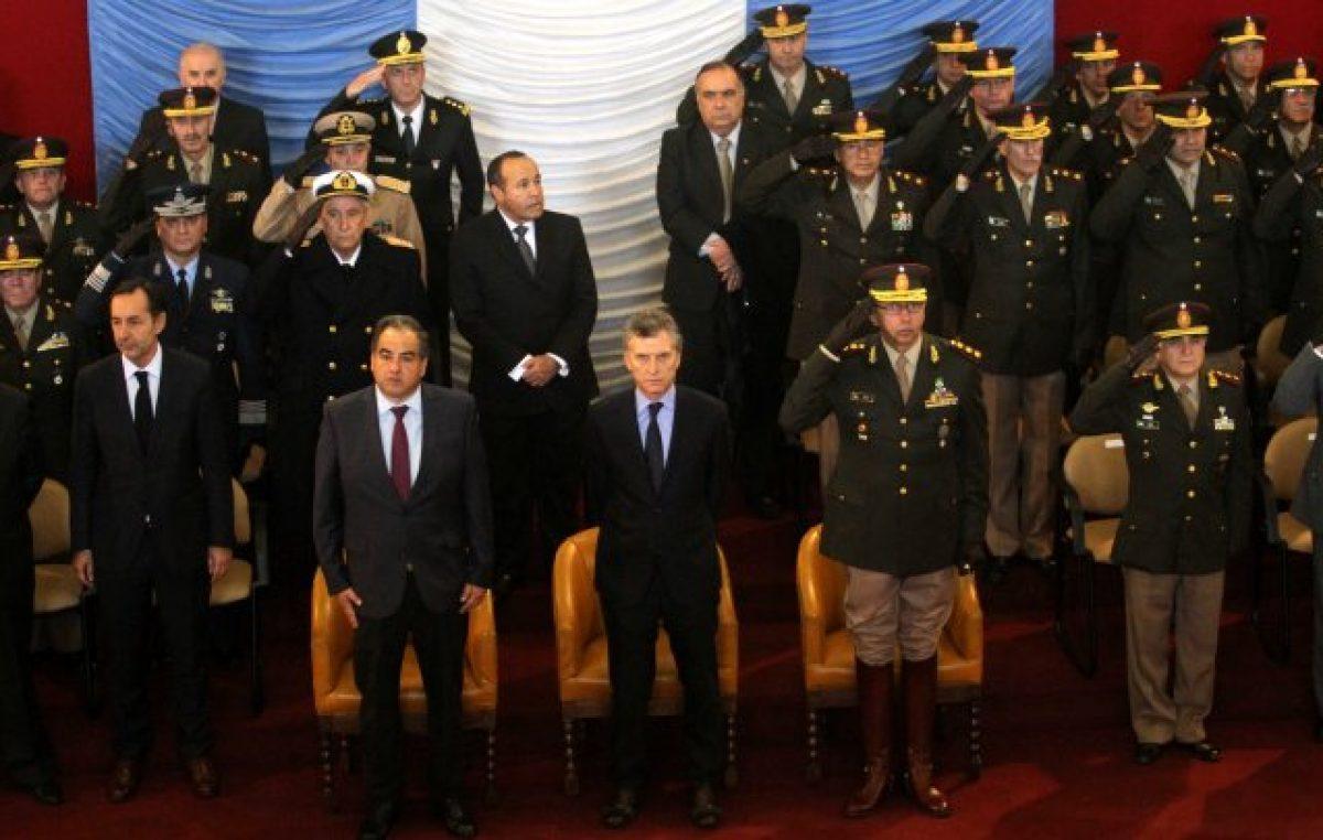 Macri derogó un decreto de Alfonsín para darle más poder a las Fuerzas Armadas