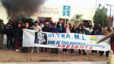 Las Lomitas: los municipales aún no pueden cobrar montos de AUH