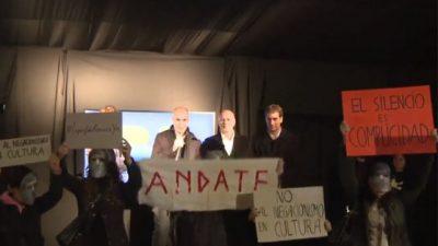 Tras polémicos dichos, Lopérfido renunció al cargo de ministro de Cultura porteño