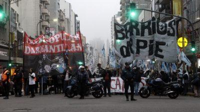 Buenos Aires: Renace el conflicto entre la Provincia y los movimientos sociales por ayudas alimentarias