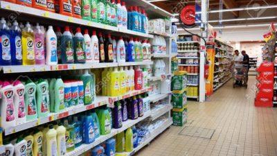 Lácteos, perfumería y limpieza reflejan subas de hasta un 70% en las góndolas