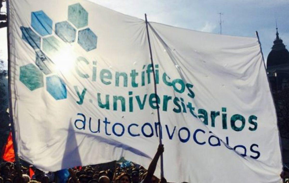 """Científicos y Universitarios Autoconvocados: """"Se redujo el financiamiento"""""""