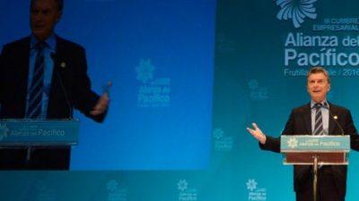 Macri empuja el Mercosur hacia el Pacífico