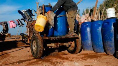 La historia del pueblo sanjuanino que hace ocho años se quedó sin agua