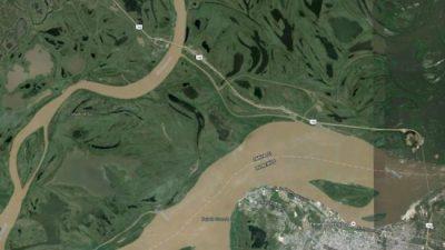Planean un nuevo aeropuerto entre Paraná y Santa Fe: El posible lugar