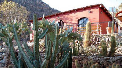 Jardín Botánico Chirau Mita en Chilecito
