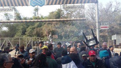 Balas de goma, palazos y gases en Jujuy
