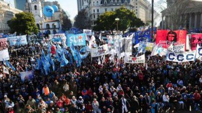 Marcha contra el ajuste y el desempleo