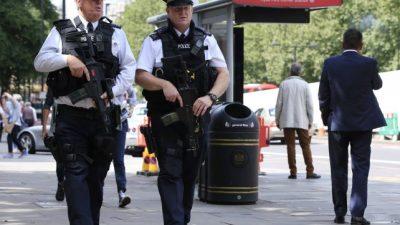 Por primera vez en más de 180 años, la policía de Londres irá armada