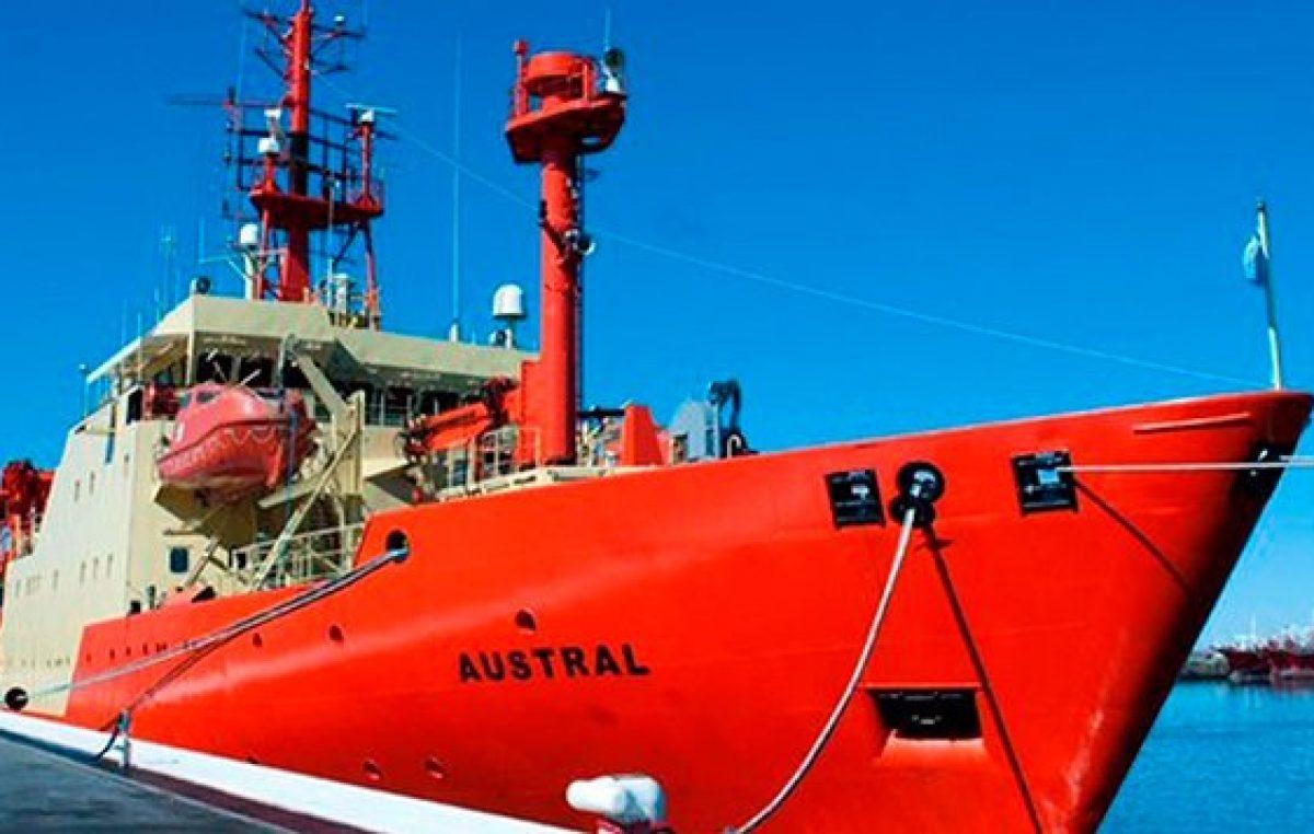 Nueva travesía del buque oceanográfico del Conicet