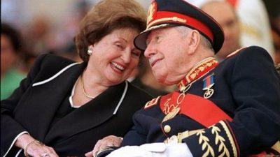 Viuda de Pinochet se desprende patrimonio fiscal