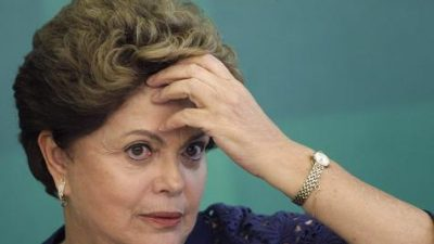 Sin prueba alguna el Senado inicia proceso de juicio político contra Rousseff
