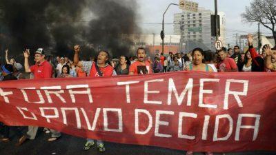 Dilma Rousseff afronta sus últimas horas como presidenta de Brasil
