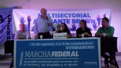 Trabajadores de todo el país se movilizarán a Plaza de Mayo contra los despidos, la pobreza y el tarifazo