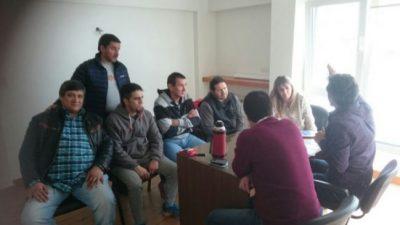 Los gremios municipales de Ushuaia se reunieron con los concejales