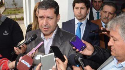 La Rioja: El gobernador rechazó aumentar fondos a Capital, pero igual hubo acuerdo