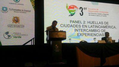 Un aporte de la Ciudad para el encuentro internacional sobre cambio climático en Ecuador
