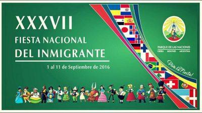Fiesta Nacional del Inmigrante, Oberá, del 1 al 11 de septiembre