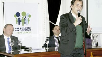 El Presupuesto Participativo en Río Cuarto se pone en marcha el miércoles 31