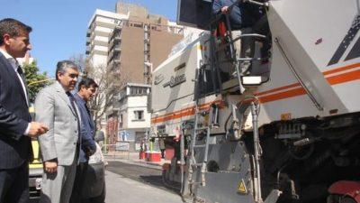 El Municipio de Tucumán ya repavimentó 13 kilómetros de calles céntricas