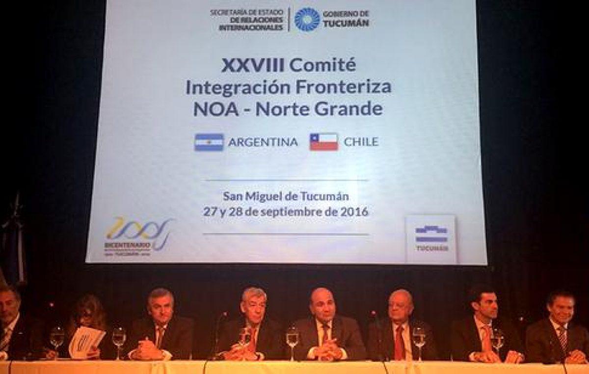 Los gobernadores del NOA buscan profundizan relaciones comerciales con Chile