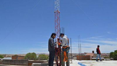 Internet gratuito y comunitario para pobladores quiaqueños