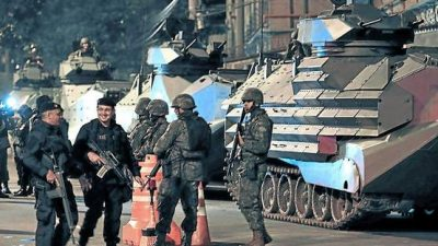 Fuerte despliegue militar en ciudades brasileñas ante ola asesinatos
