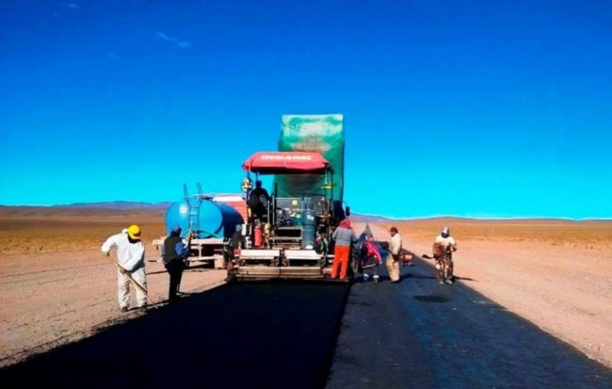 Perico prueba pavimento con nanotecnología