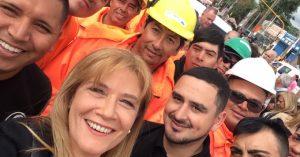 Magario pasó facturas a Vidal y a Macri: dijo que faltan obras y gendarmes para La Matanza