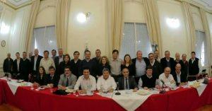 Gargaglione presidió el Foro de Intendentes Radicales en el que el presupuesto provincial fue el tema central