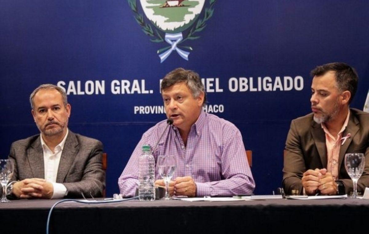 """Lanzaron en Chaco el programa """"Municipios en Acción"""" para combatir las drogas"""