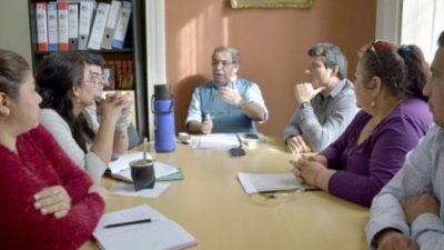 Se reúne la Mesa paritaria del Municipio de Corrientes