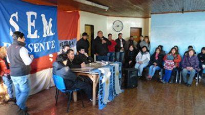 28 de noviembre: El SEM siguió manifestándose en la ruta nacional Nº 40